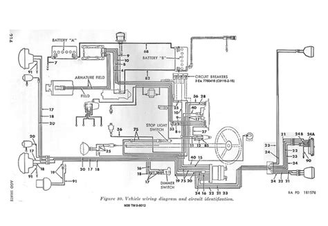 early electrical wiring slide show for album m38 electrical