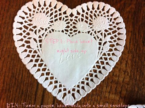 Doily Paper Craft - diy doily crafts turn a into an