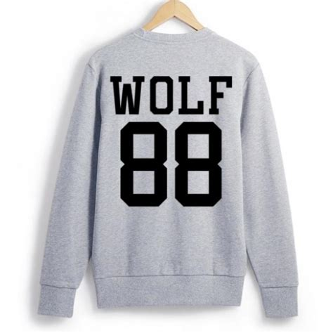 Sweater Exo exo exo k exo m goods wolf sweater sleeve t shirt