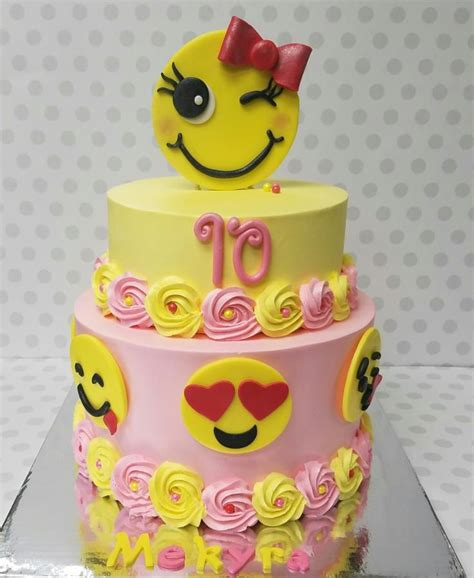 emoji cake emoji cake cake by pastry bag cake co but in blue for my