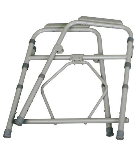 Folding Steel Commode by Folding Steel Bedside Commode