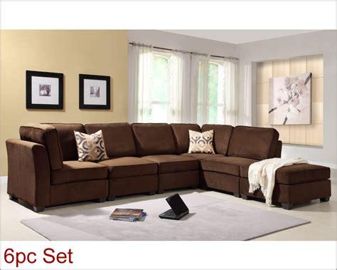 burke sofa homelegance sectional sofa set burke modular el 9709fcset