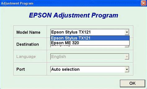 reset epson me320 tx121 resetter epson tx121 me320 printer tools