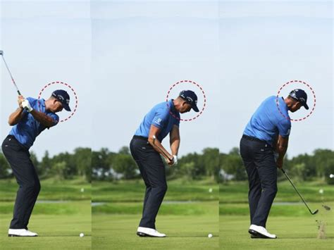 henrik stenson swing why henrik stenson does not look at the ball at impact