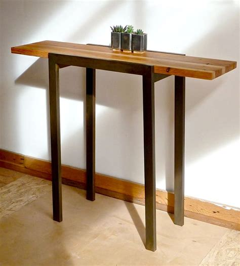metal and wood entry table 147 best amazing welded furniture images on