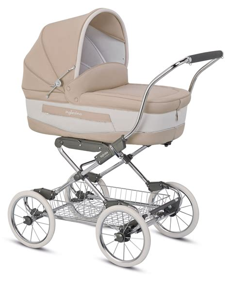 Inglesina Classica Pram Vaniglia inglesina stroller vittoria collection blue lable buy at kidsroom strollers