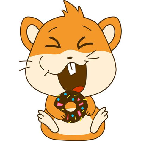 hamster animation hamster animated stickers by appbubbly