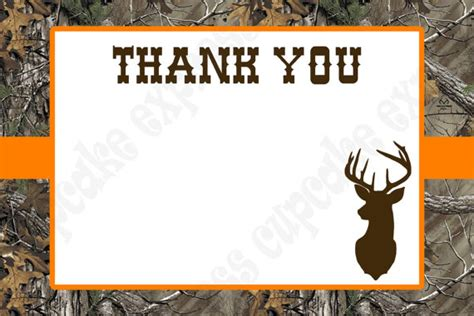 printable birthday card hunting instant download camo boy hunting birthday party printable