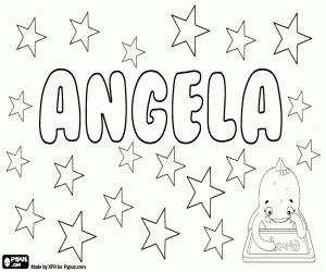 coloring page angela angela app coloring page coloring pages
