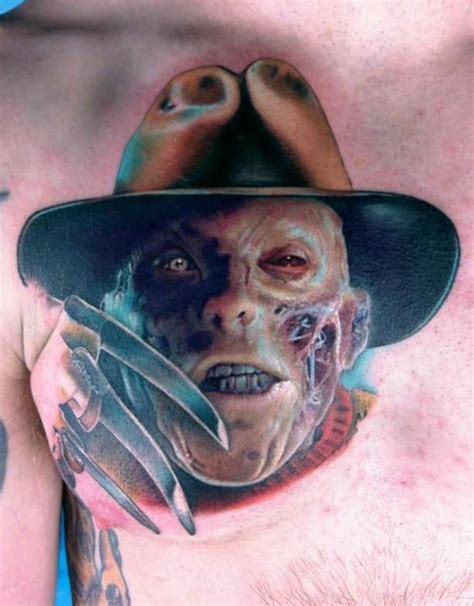 freddy tattoos design freddy krueger motive tattooed tattoos