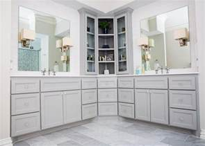 Corner Vanitys 20 Stylish Bathroom Storage Design Ideas Design Trends