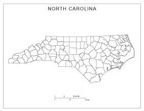 maps of carolina