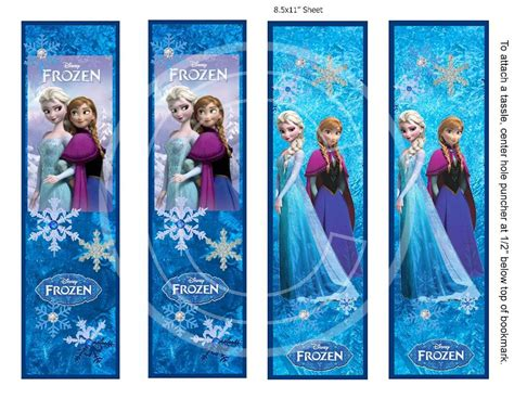 Printable Frozen Bookmarks | 4 best images of olaf printable bookmarks frozen