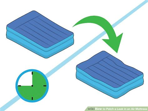 air bed patch 3 ways to patch a leak in an air mattress wikihow