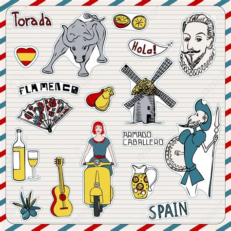 doodle barcelona gaudi clipart clipground