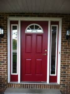 door colours behr s spiced wine paint for the front door i love this color colors for front door pinterest