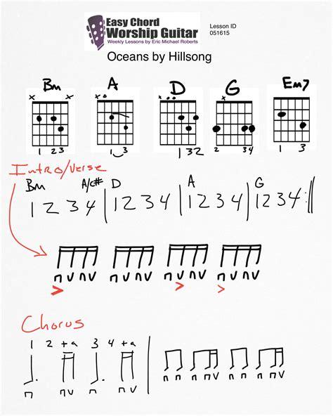Easy Hillsong Guitar Chords