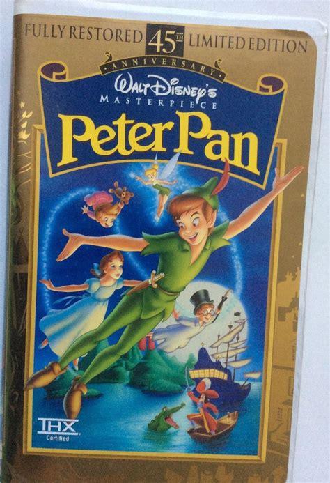 walt disney classic vhs pan 45th anniversary