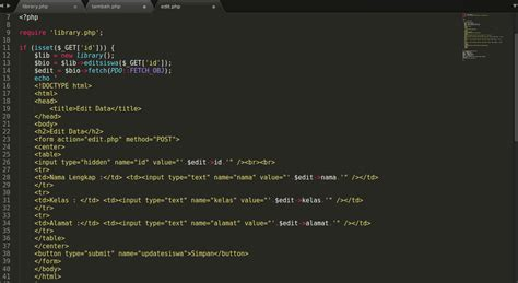 membuat crud dengan php pdo membuat crud dengan oop pdo semi script