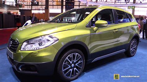 Suzuki Sx4 S Cross 2014 2015 Suzuki Sx4 S Cross All Grip Exterior And Interior