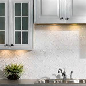 Fasade Kitchen Backsplash Panels by Fasade Backsplash Rings In Matte White