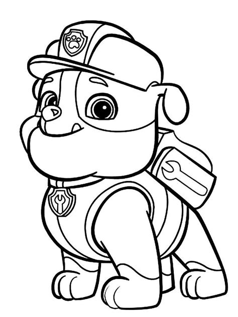 paw patrol team coloring pages the paw patrol team colouring pages page 2 paw patrol