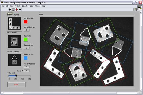 pattern matching vision assistant detect and count geometric patterns using ni vision