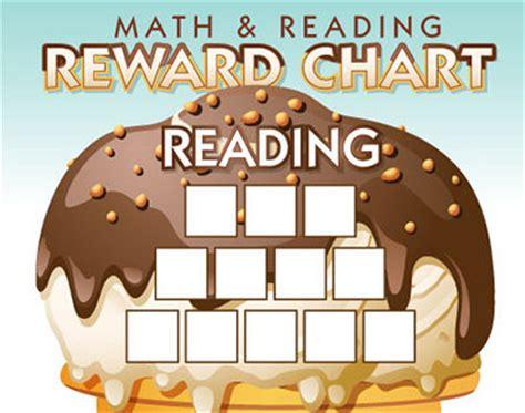 math  reading reward chart imom