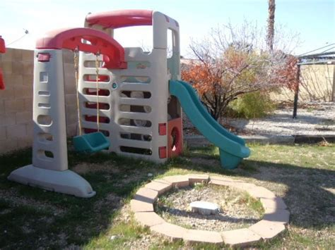 step 2 slide and swing set step 2 huge 7 tall climber outdoor heavy sturdy playhouse