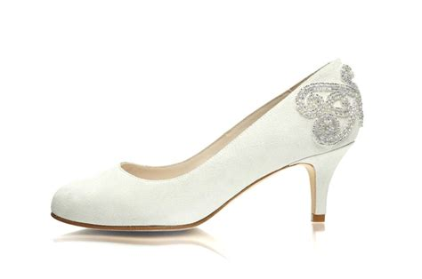 Wide Bridal Shoes by Wide Fit Wedding Shoes Sargasso Grey
