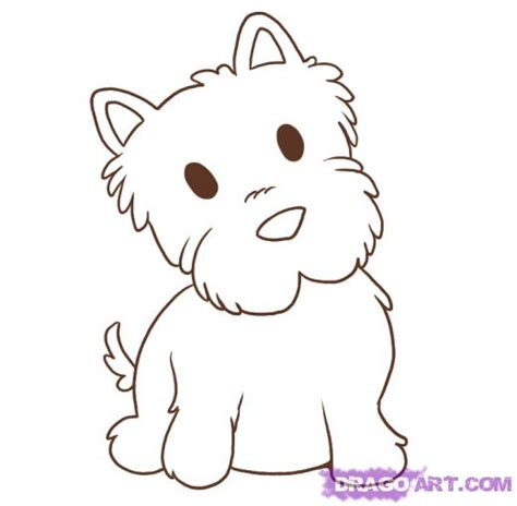 Westie Coloring Pages free westie dogs coloring pages