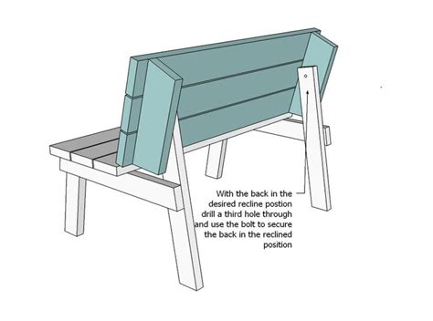 bench converts to table 1000 ideas about folding picnic table plans on pinterest