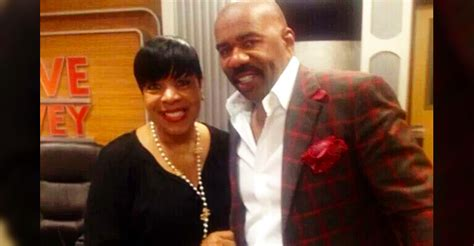 ernesto shirley strawberry husband steve harvey s radio co host shirley strawberry her