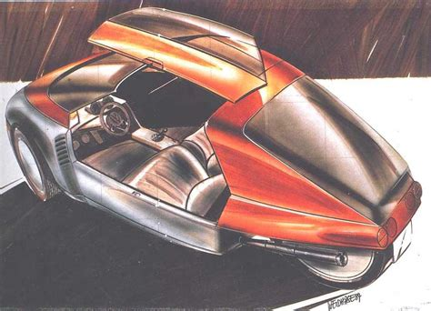 sketch book car 1986 volkswagen scooter concepts
