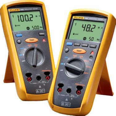 Fluke 1503 Insulation Resistance Tester 1 industrial electronics 1507 and 1503 insulation testers