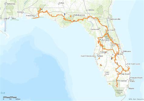 florida trail map trails ocala florida images