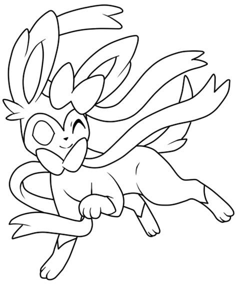 pokemon coloring pages sylveon the gallery for gt pokemon coloring pages eevee