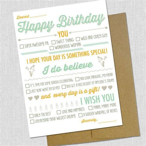 happy birthday card templates you fill in blank fill in the blank happy birthday card