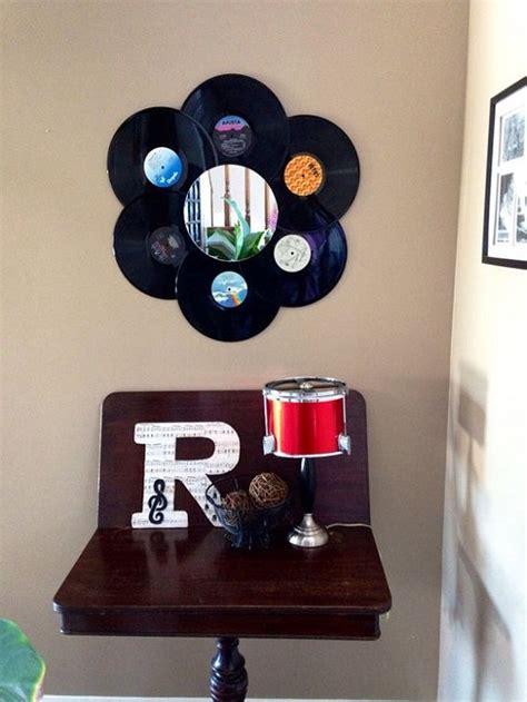 como decorar o quarto disco de vinil decora 231 227 o discos de vinil customizando net blog de
