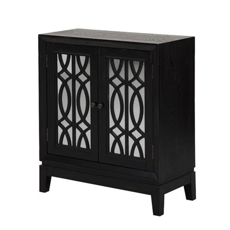 Mirrored Storage Cabinet by Get This Look Designer Living Room The Honeycomb Home