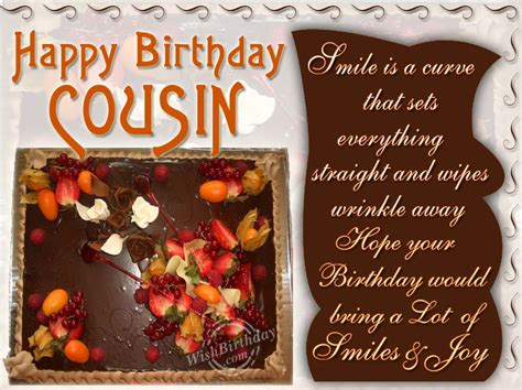 Happy Birthday Quotes For A Cousin 1000 Images About Birthday Wish For Cousins On Pinterest