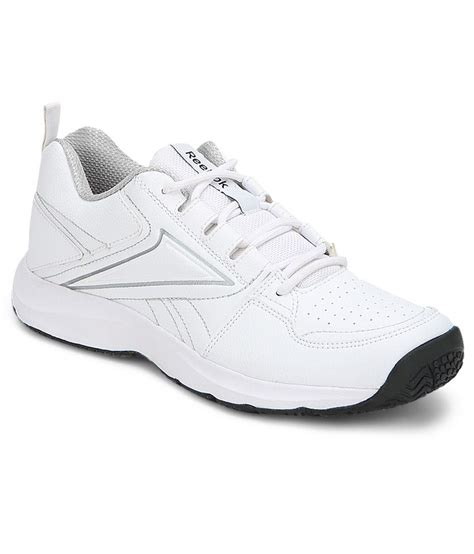reebok all day walk lp white sports shoes price in india