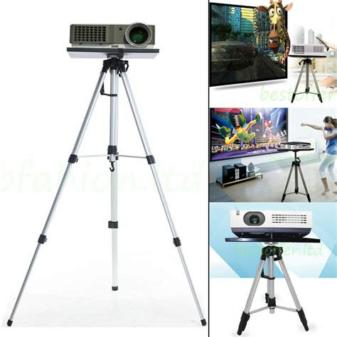 height adjustable laptop projector stand mount tripod