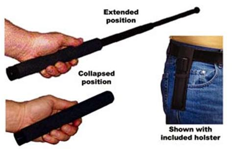 extending baton extendable steel baton 490 only free delivery