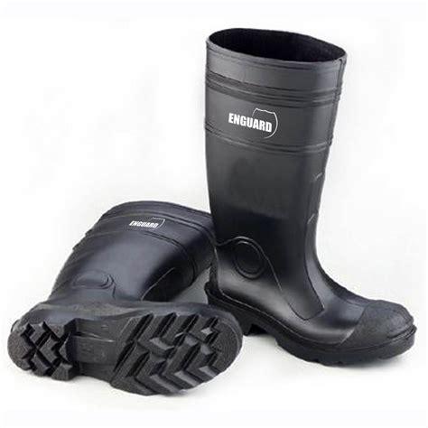 pvc boots enguard s 16 quot waterproof pvc boots black