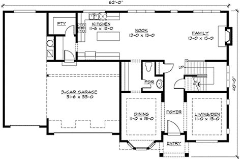 tandem garage plans 3rd floor loft and a tandem garage 23339jd 2nd floor