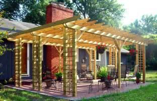 Wood Pergola Designs And Plans by Pergola Pergola Lumber
