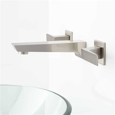 wall mount bathroom sink faucet cheval wall mount bathroom faucet bathroom sink faucets