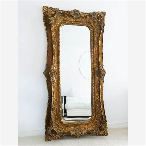 large decorative frame gold mirror decorative large frame 180 x 89 cm exclusive