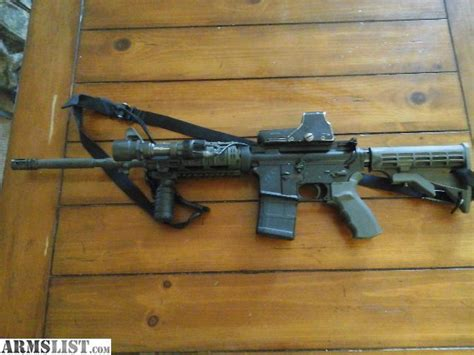 ar 15 tac light armslist for sale elite arms ar 15 with eotech